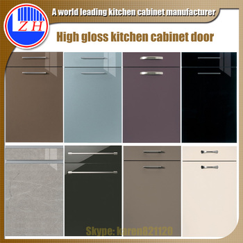 Acrylic high gloss pattern kitchen cabinet door, View high gloss kitchen  cabinet door, Zhihua Product Details from Guangzhou Zhihua Kitchen Cabinet  ...