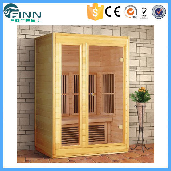 Hot sale high quality indoor wooden dry steam portable far infrared sauna