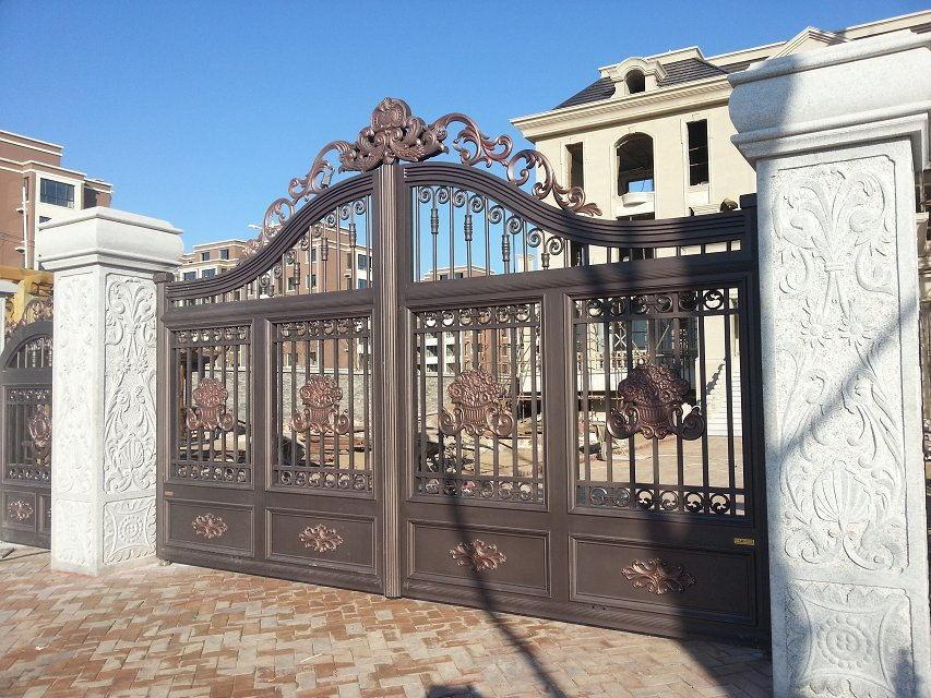 Residental New House Driveway Gates,beautiful House Gates,villa Main Gate  Design