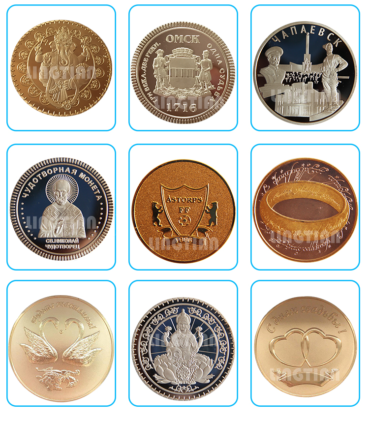 Competitive pressing iron plated cheap custom metal challenge souvenir coins