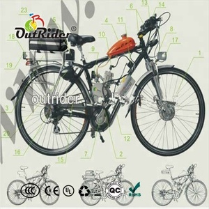 China cheapest with High-Tech New 2-Stroke 80cc bicycle engine kit