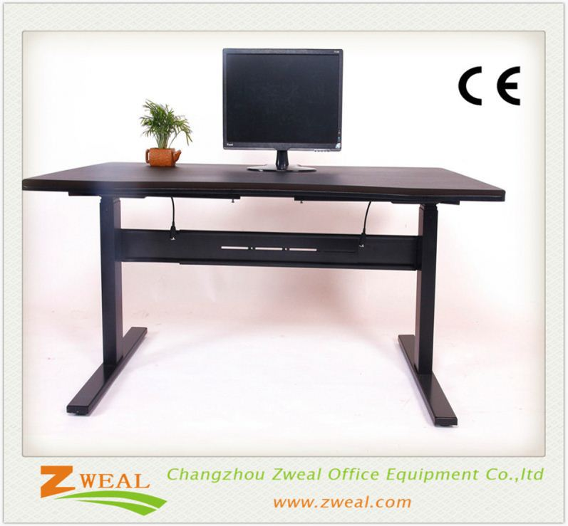 stainless steel chrome furniture legs adjustable reading table height desk frame