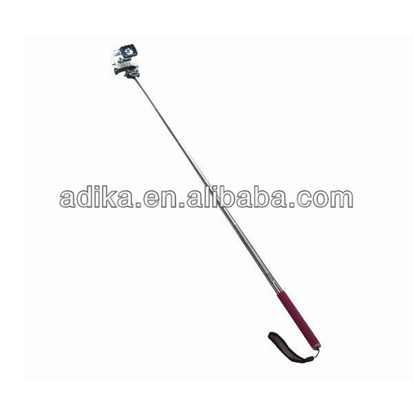 Gopro Extendable Pole Monopod with Tripod Mount Adapter for Gopro Hero phone frame