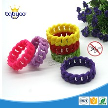 100% natural food grade DEET free eco-friendly mosquito repellent bracelet bug band