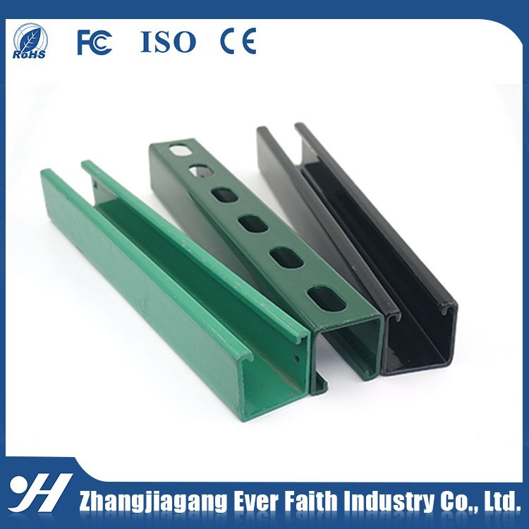 China Suppliers Steel Structure Unistrut Channel