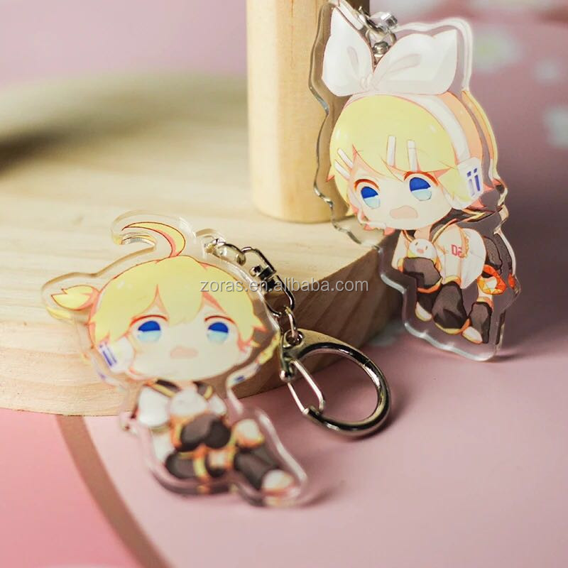 Customized Acrylic Standee Anime Acrylic Keychain Chinese Maker