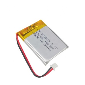 electrical products batteries small square lithium battery 3.7V 522533 400mAh polymer battery