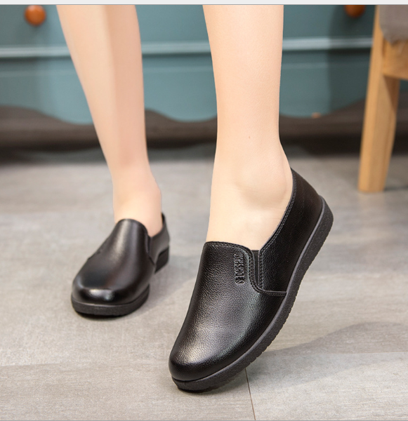 Tsb22 Size 34 To 41 Restaurant Girl Women Men Waiters Kitchen Leather Shoes Non Skid Anti Slippery Oil Resistance Cheap Price Buy Safety Shoes Non