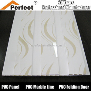Building material PVC ceiling/PVC false/wall panel pvc ceiling