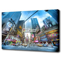 Bustling city New York picture