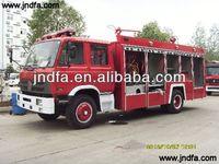 water tank fire fighting truck