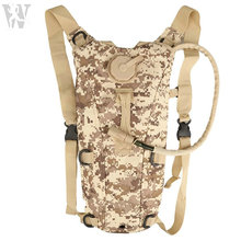 Top Quality Cheap Price Digital Desert Camo Water Bag Hydration Pack Backpack