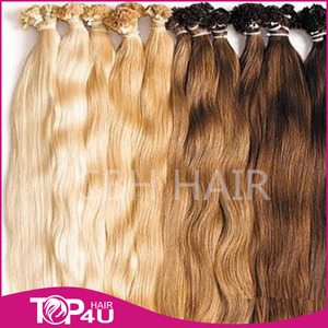Italian Glue High Quality keratin curly hair extensions