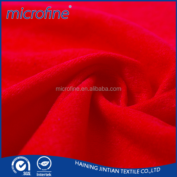 polyester upholstery suede fashion fabric price factory manufacturer