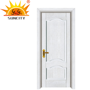 Factory price fancy design bedroom wood door