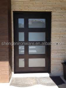 Frosted Glass Front Doors