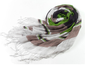hot sale factory direct linen ladies scarves wrap fashion printing vietnam shawl scarf
