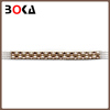 Fashion alloy beaded rhinestones bridal lace trim for making clothes or dress