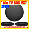 Win10 Tv Box Win8.1 android 4.4 Smart TV Box Dual OS Mini PC Win 8.1+Android 4.4 internet Z3736F Quad Core 2G+32G BT set top box