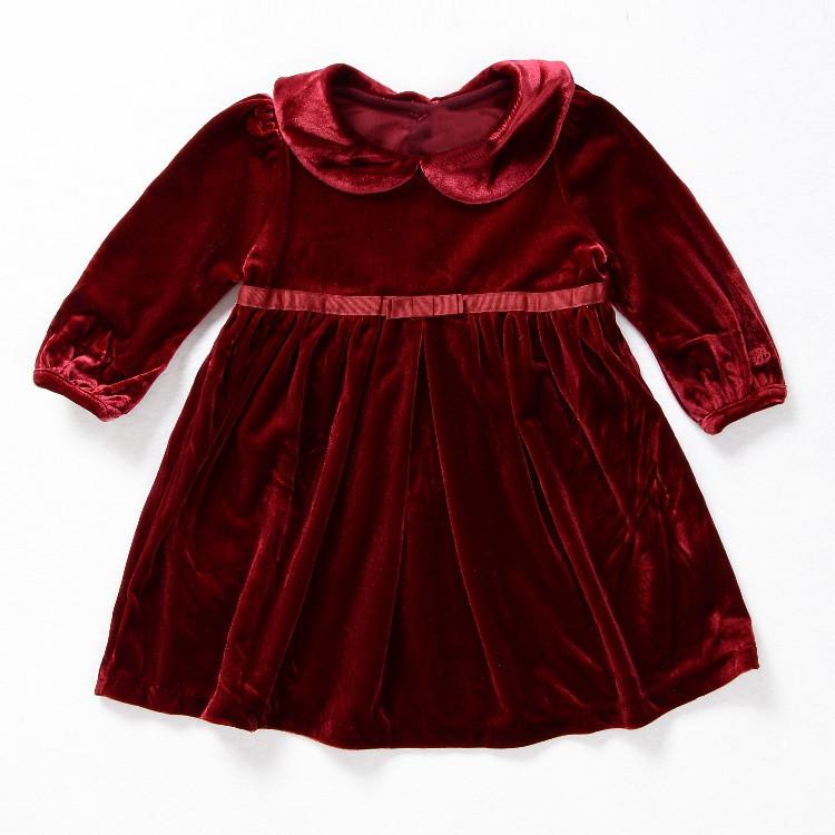 Cowboy Baby Dress Children Long Frocks Designs Girls