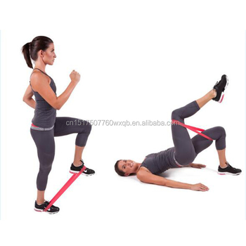 54d45acae09c Mini Resistance Band Loop Exercise Bands Set of 5 with Instruction Guide