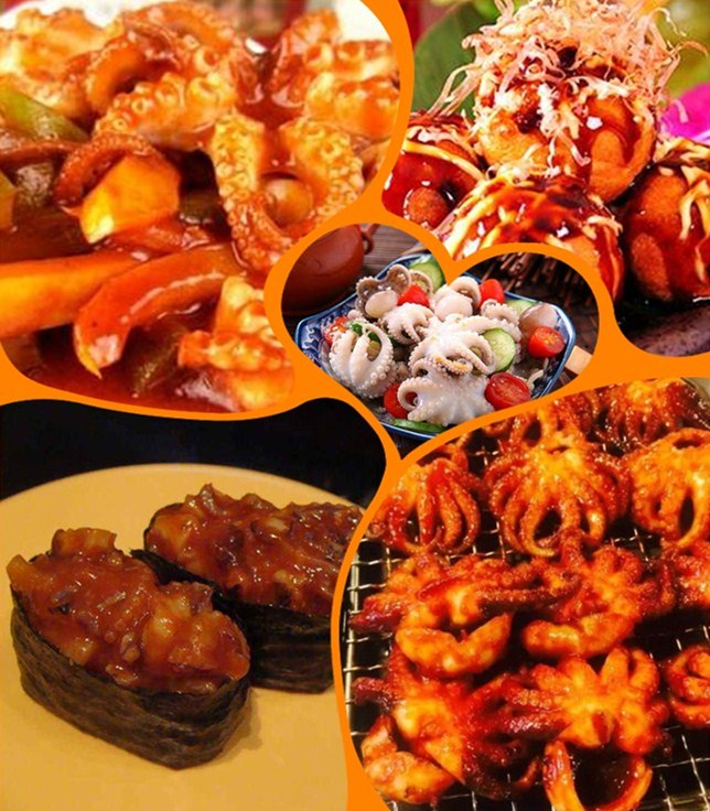 Frozen baby octopus for sale delicious seafood