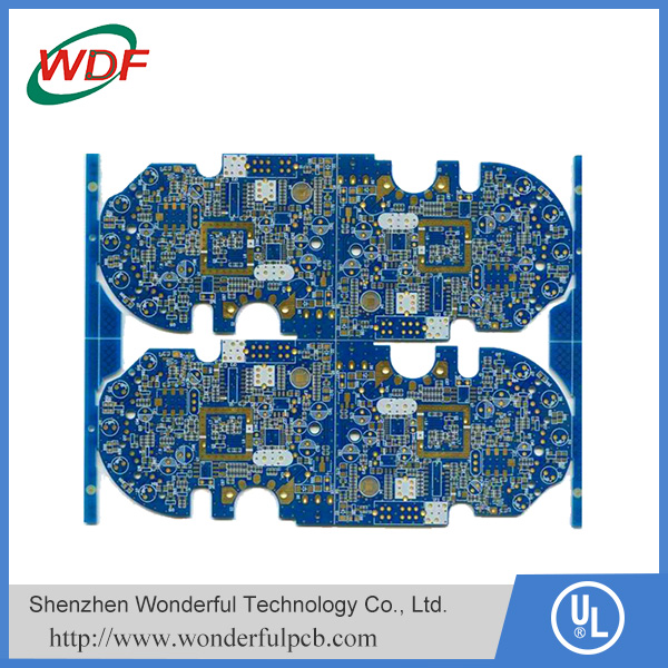 Blue oil or white Immersion Gold surface 4-layer FR4 circuit board pcb