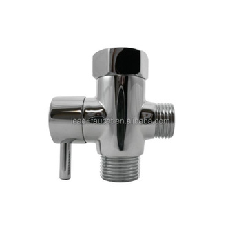 Shower Head Diverter Valve.Shattaf Brass 3 Way T Adapter Shower Head Diverter Water Valve With Shut Off Valve Buy Brass Tee Adapter Water Diverter Valve Shut Off T Valve