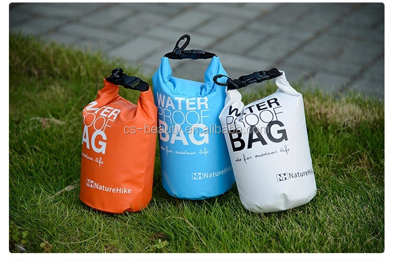 2L Waterproof Dry Bag Small Ultralight Outdoor Travel Waterproof Dry Bag Swimming Colors For Swim Travel