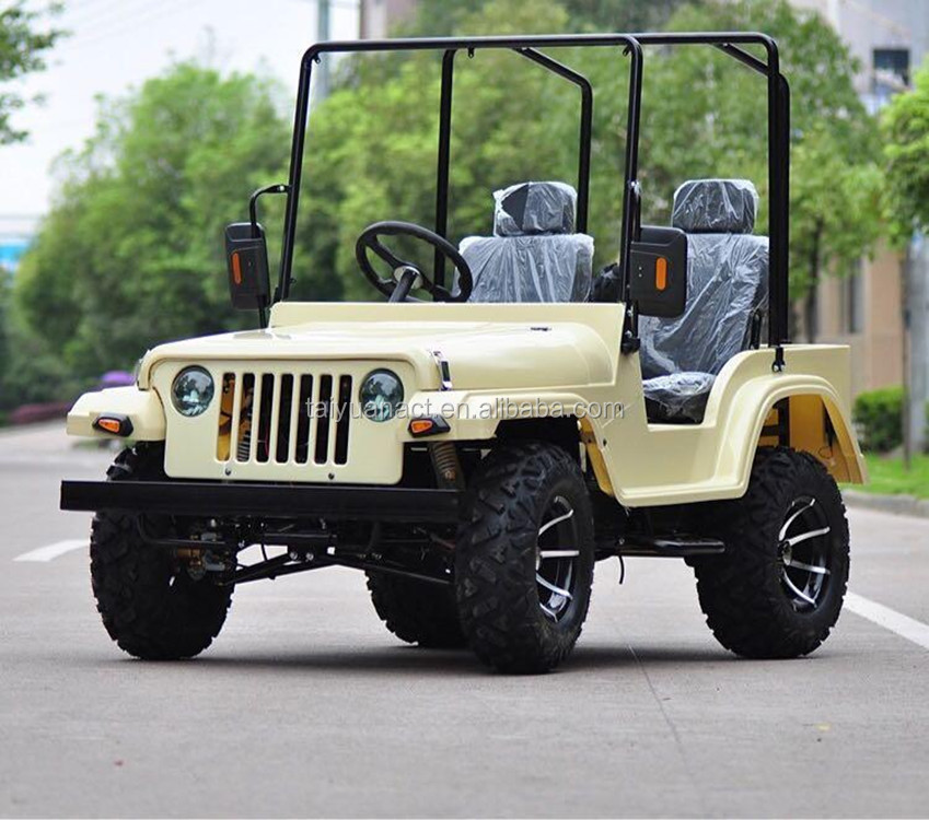 2017 Hot automatic 200cc adult mini jeep/chinese atv brands