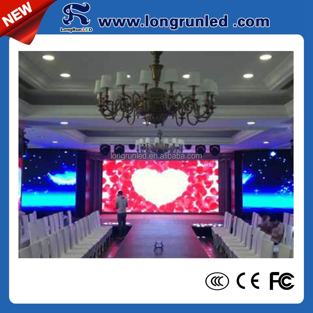 China supplier fashionable design 1000cd/sqm trade show led display