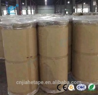 China Supplier brown adhesive roll Carton Sealing Jumbo Roll Packing Adhesive BOPP Tape
