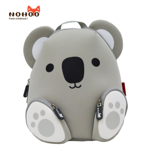 High quality brand name fashionable kindergarten kids neoprene waterproof animal backpack and school bags