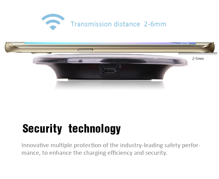 Wholesale Mobile Phone Accessories Qi Standard Ultra-thin Wireless Charger Receiver Module Fast Charging Case for iPhone