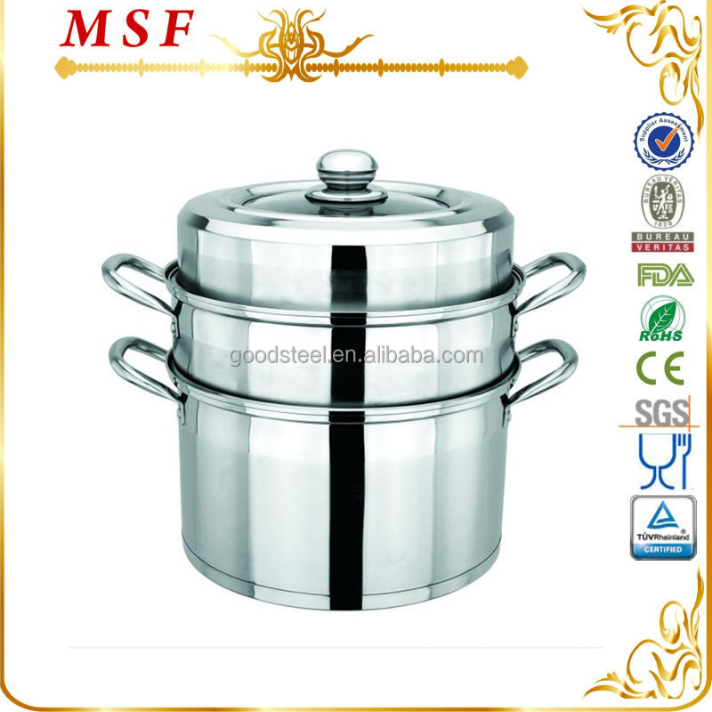 multi-use stainless steel steam pot/commercial steam cooking pot/stainless steam pot