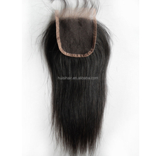 Promotional gift! China vendors 7A 8A 9A top grade new arrival can be dyed human hair closure