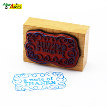 Decorative Rubber Stamp With Name And Address
