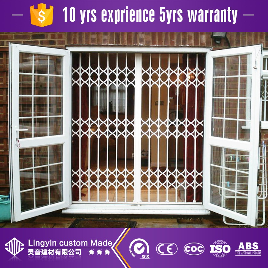 2017 Iron Window Grill Design Burglar Proof Window With