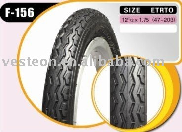 Bicycle tyre 12*1.75