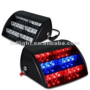 18 LED Car Security Flashing Red Blue Strobe Light HS-51034