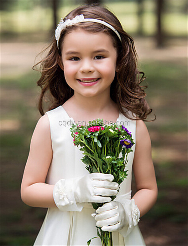 Flower Girl Gloves