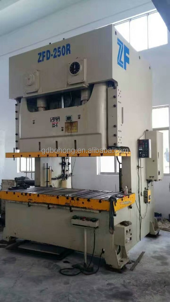 used cheap press puncher ZFD-250R pneumatic punching machine