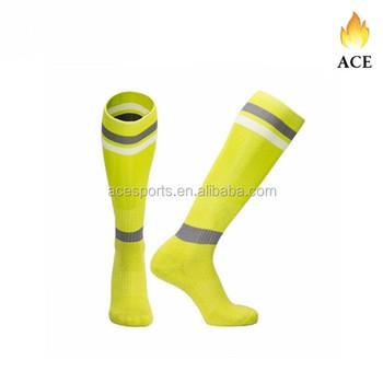 287e3c4846e0 Men s top quality knee high soccer socks wholesale custom design socks