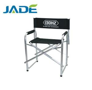 Logo-printing Folding Aluminum Tube Director Chair portable Aluminum Chair Director's Chair For Sale
