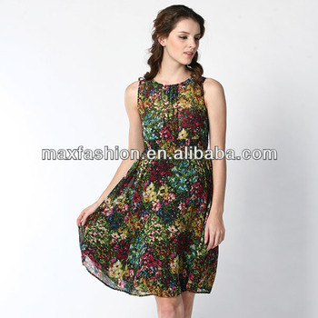 f35405e41c5dd Elegant floral chiffon knee length lace maternity dresses with transparent  black knitted lace back