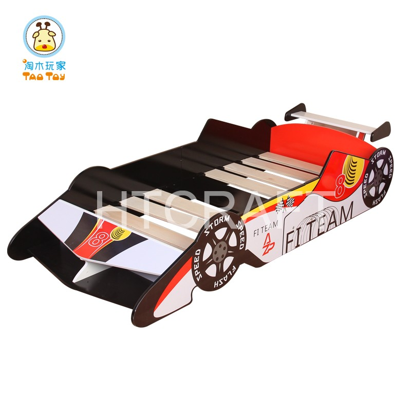 2016 Popular Wooden Children Racing Car Bed Child bed