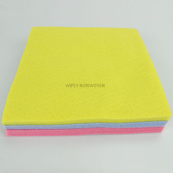 High Quality spunlace nonwoven household wiper cloths