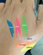 private label blacklight face paint UV/neon body painting