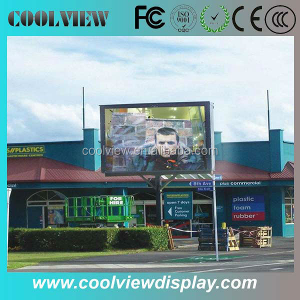 P10 IP65 10000 front access resolution full color outdoor led <strong>display</strong>