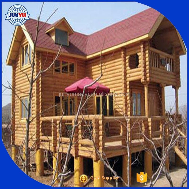 Best Wooden House Price / Prefab House Price /wood Log Cabin Kit